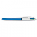 3. Pulpen BIC 4 Colour Blue Black Red Green