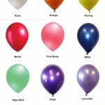 BALON WARNA LATEX