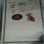 Kristal mika folio