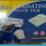 PLASTIK LAMINATING A4 ASCO